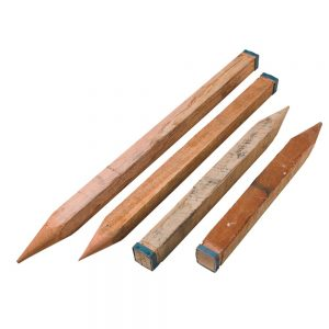 Steel Capped Concretors Pegs 50x50mm