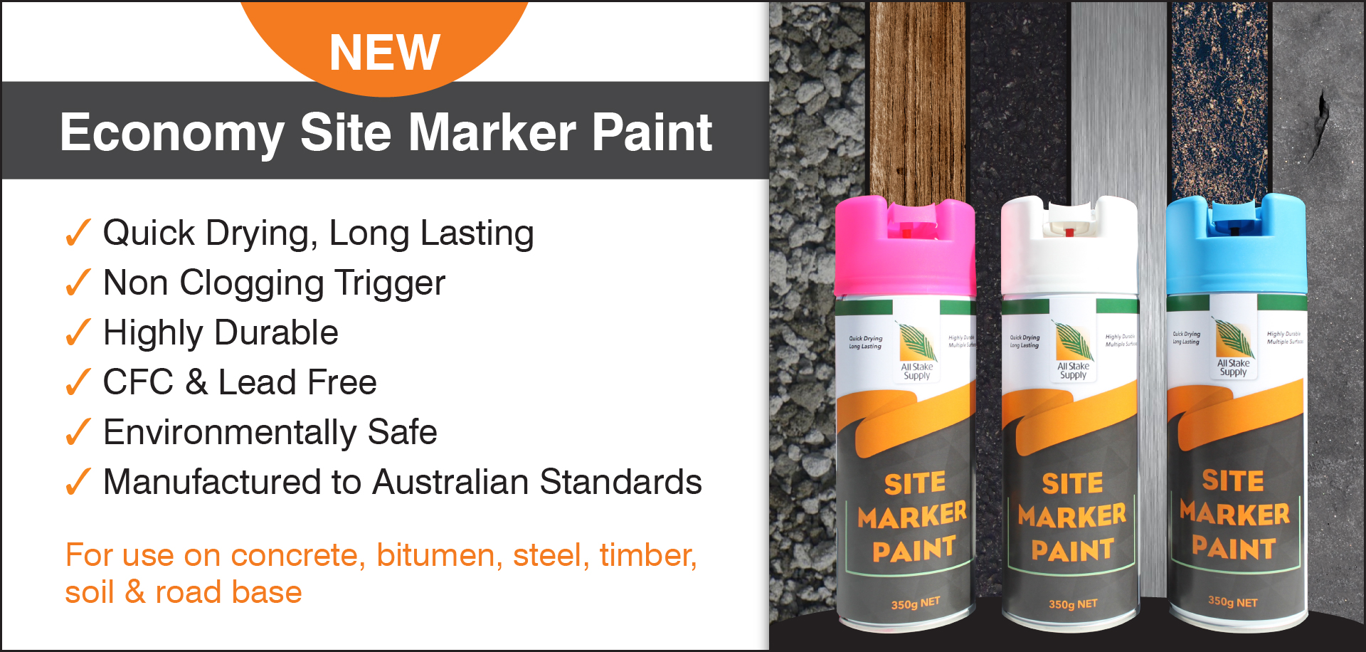 Site marker spray