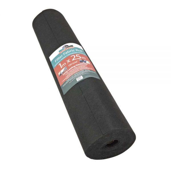 Terraform Geotextile Filter Fabric Roll 1m x 25m RETAIL